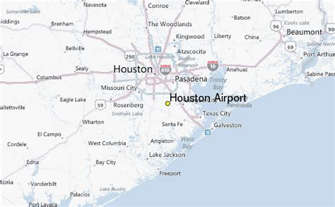 houston map airport houston airport weather station record historical