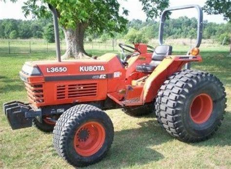 kubota     tractor operator manual