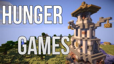 good hunger games themes minecraft parkour pvp hunger games custom map game map