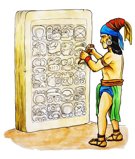 imagenes de los mayas animados violetas legado maya escritura
