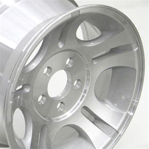 explorer bolt pattern and offset 15 quot silver ranger 174 oem 3431 wheel machined face rim fits
