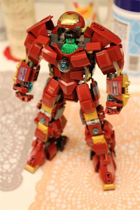 lego hulkbuster concept minibig