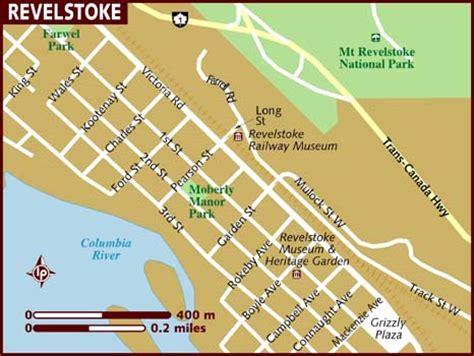 Map of Revelstoke