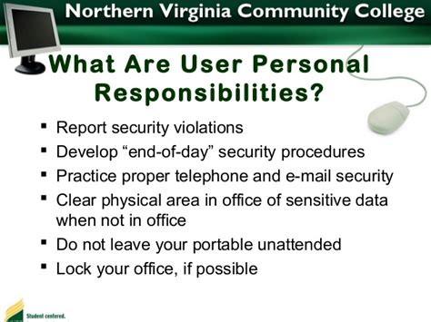 IT Security Awarenesss by Northern Virginia Community College Locksmiths In Northern Virginia