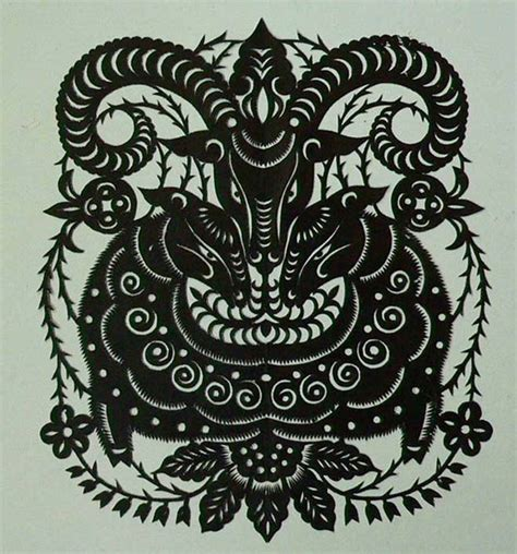 oriental goat tattoo chinese zodiac goat pictures pics images and photos for