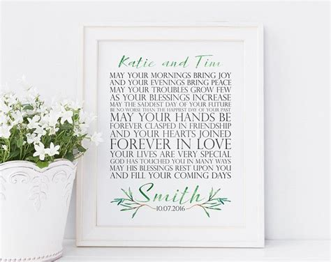 Wedding Blessing Presents by 253 Best Wedding Printables Images On Custom