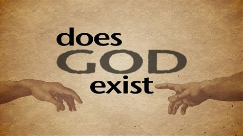 The Exists by Does God Exist Series The Cosmological Argument