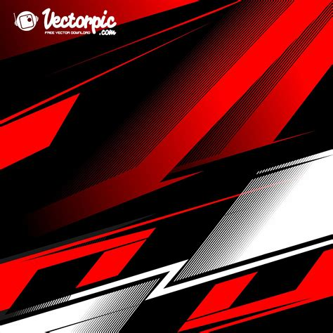 racing stripe streak red  white  abstract