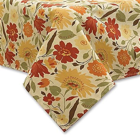 Which Is Better Vinyl Tablecloth Or Fabric Tablecloth - buy blooms laminated fabric 70 inch tablecloth in