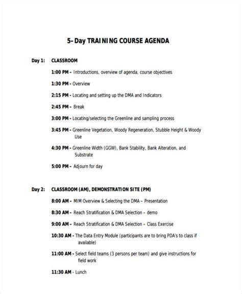 10 classroom agenda exles free sle exle