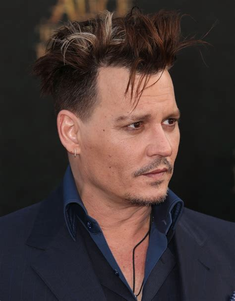 Johnny Depp Hairstyle by Pin Johnny Depp Hairstyles On