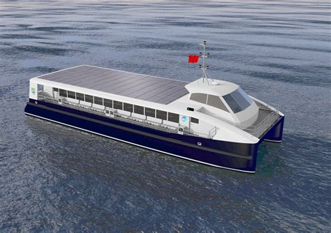ferry electric electric ferry is a solar boat to china wired