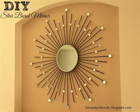 Bathroom Ideas Decorating Cheap Diy Starburst Mirror Favecrafts Com