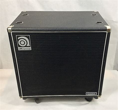 ampeg svt 15e bass amplifier cabinet used reverb
