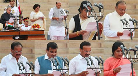 South Cabinet Ministers And Their Portfolios by Narendra Modi Government List Of Portfolios And