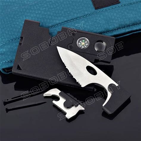 survival credit card 9 in 1 survival card knife credit card companion by carzor