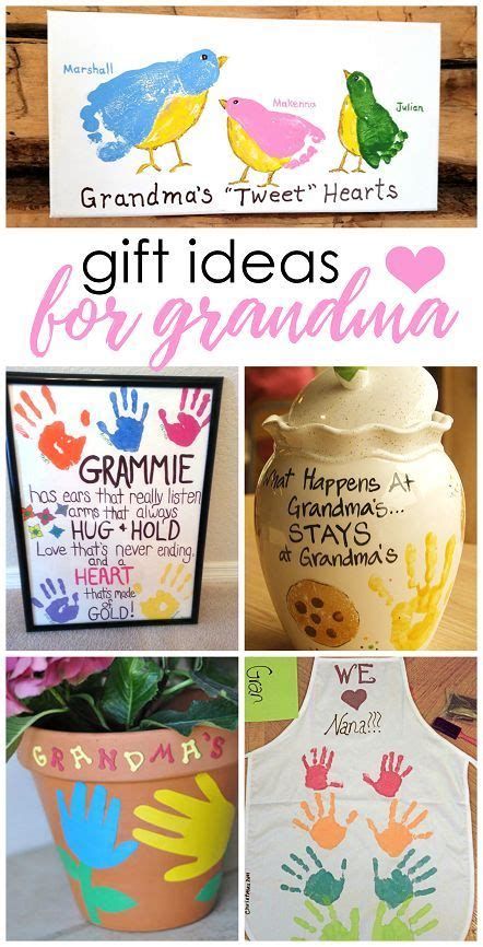 crafts for grandparents day and handmade gifts on