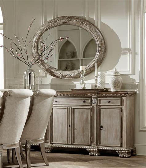 Orleans II White Wash Traditional Formal Dining Room Furniture Set D2168WW