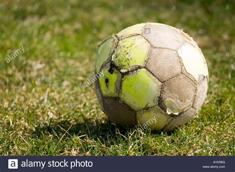 Slightly Used by Slightly Used Soccer Football Stock Photo 17071023