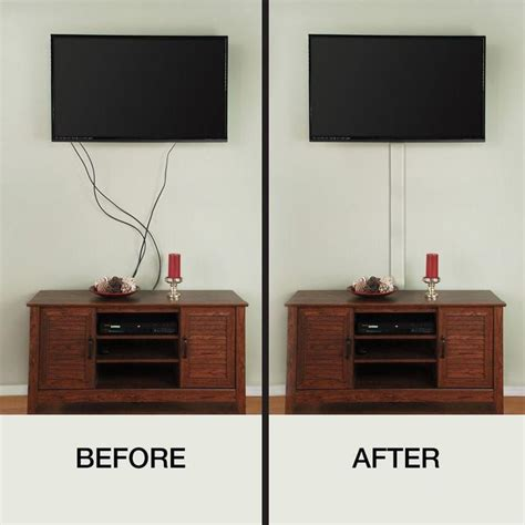 Tv Verstecken by Best 25 Tv Cord Cover Ideas On Tv Wire Cover