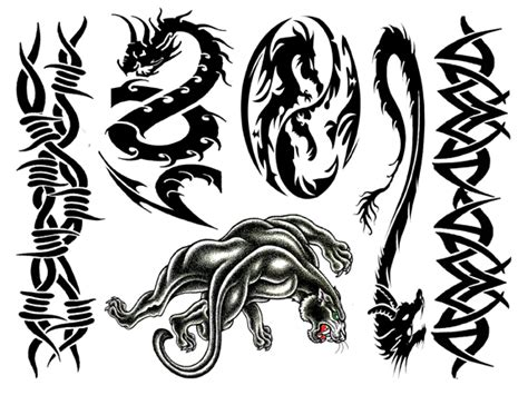 macho 1 temporary tattoo sheets