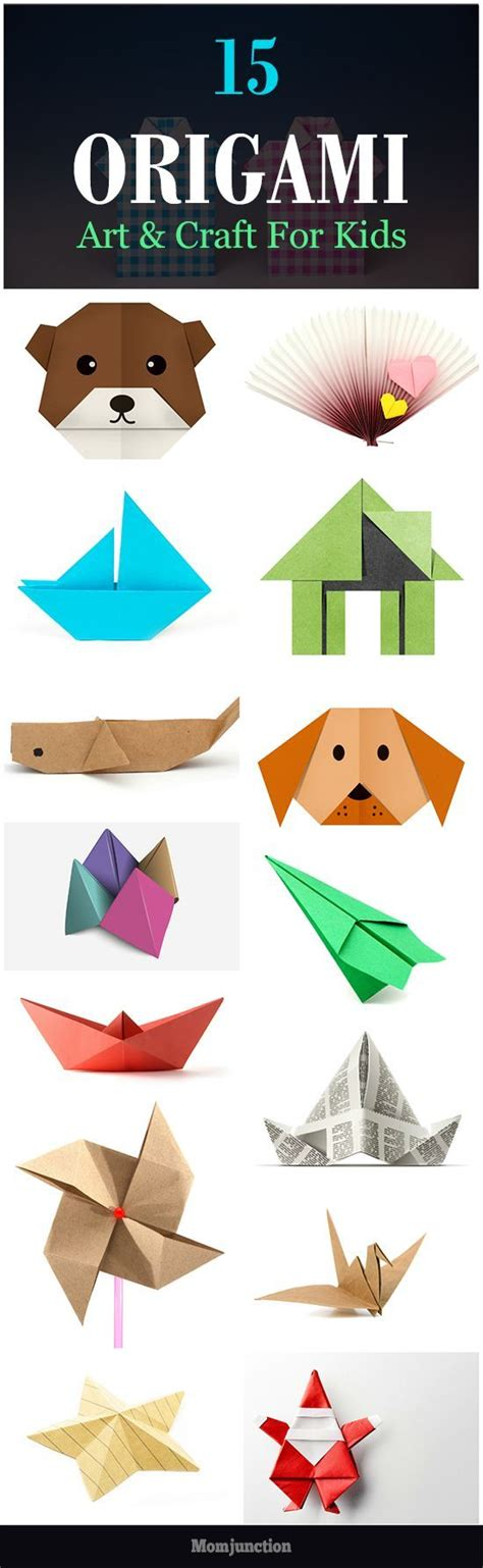 Easy Paper Folding Crafts For Children - 25 unique simple origami ideas on simple