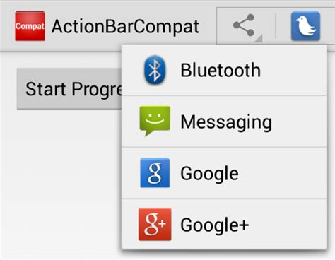android oncreateoptionsmenu android support library v7 hello actionbarcompat xamarin