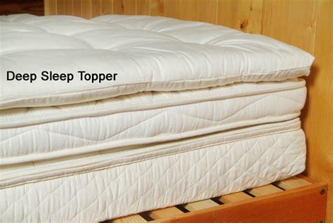 pillow top crib mattress pad deep sleep wool topper 2