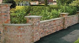 brick garden wall designs gardensdecor com