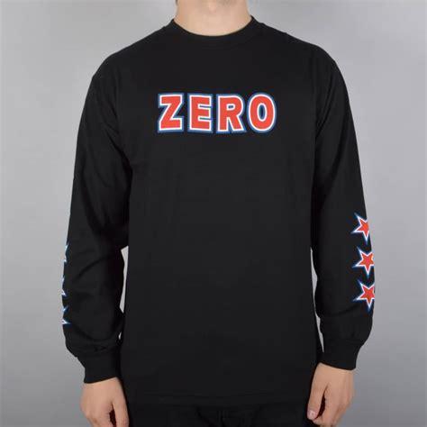 T Shirt Band Zero X Store zero skateboards american bold longsleeve t shirt black skate clothing from skate