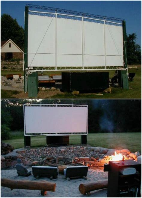 Diy Backyard Theater by 35 Ridiculously Diy Backyard That Are Borderline