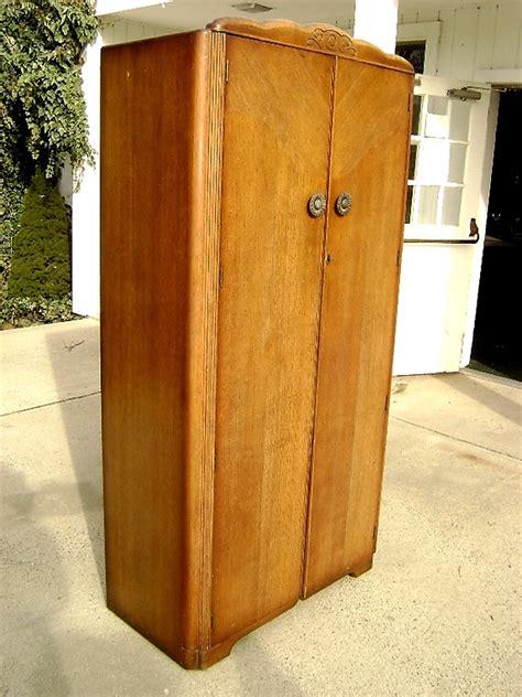 rustic elegance antique oak armoire for sale