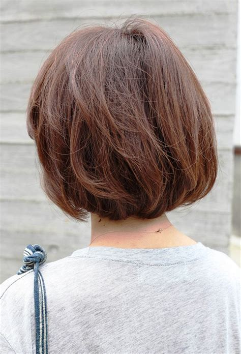pictures   view short brown bob hairstyle