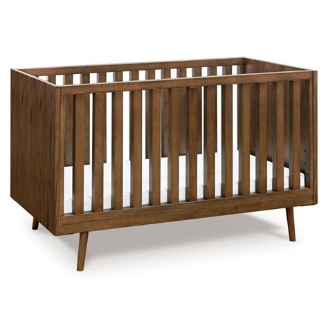 Ubabub Nifty Timber 3 In 1 Crib In Walnut Us0310ul Walnut Baby Crib