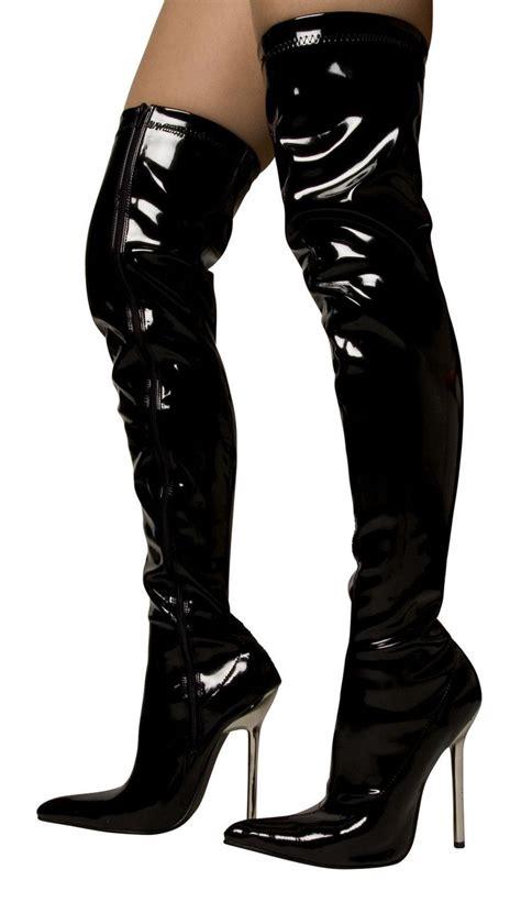 sexiest high heel boots 25 best ideas about overknee stiefel schwarz on