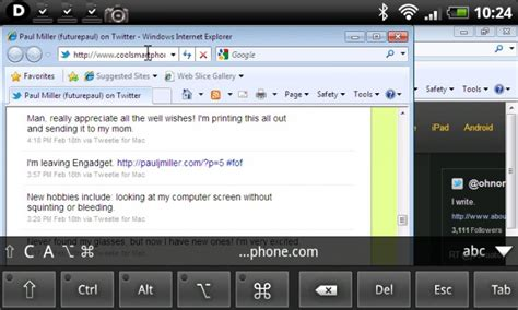 vnc android official android vnc viewer now available coolsmartphone