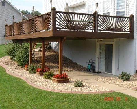 Deck Landscaping Ideas The Deck Landscaping Ideas Pictures Remodel And Decor