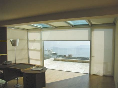 tende per vetrate scorrevoli schermature solari tende filtranti tende per vetrate