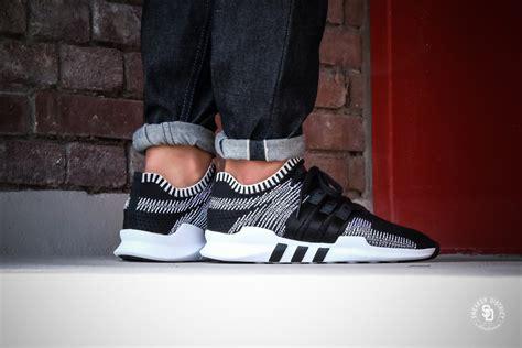 Import Adidas Eqt Size 36 41 adidas eqt support adv primeknit black white by9390