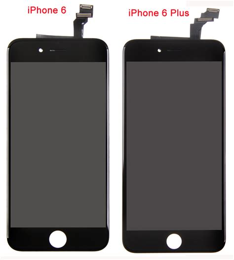 Screen Iphone 6 Plus differences between iphone 6 and iphone 6 plus lcd