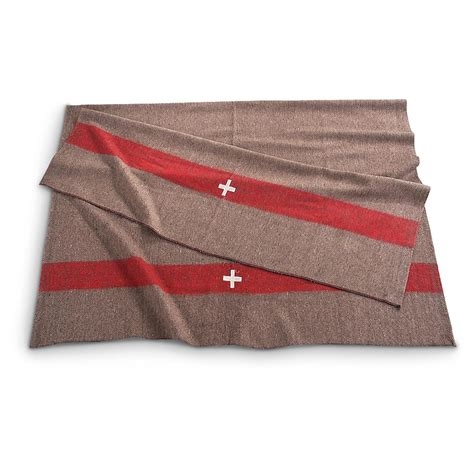 Decke Aus Wolle by Swiss Army Style Wool Blanket New 232159 Blankets At