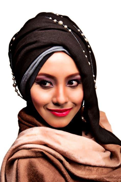tutorial berhijab turban tutorial hijab modern turban terbaru paling praktis