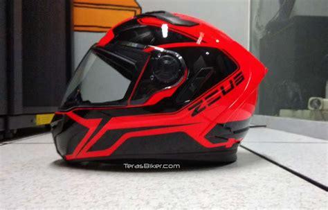 Helm Zeus 813 Review Produk Helm Zeus Zs 813 Tilan Dan Finishingnya