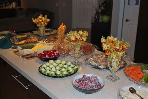 Appetizer Table by Appetizer Table Appetizers