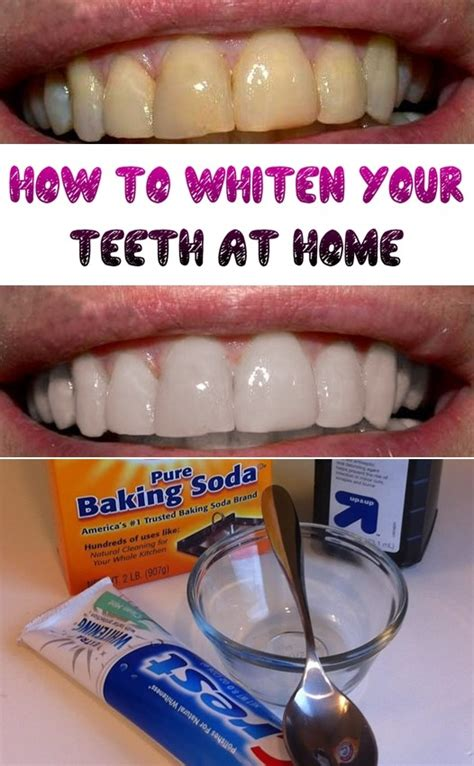 how to whiten your teeth at home tutorials