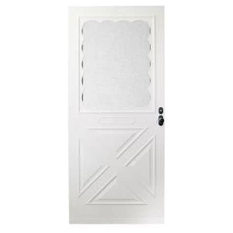 Forever Door by Emco 36 In X 80 In Forever White Universal Store In Door