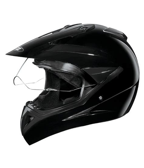 motocross helmets in india studds helmet motocross plain black large
