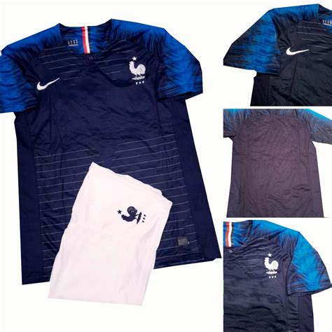 uniforme francia local mundial 2018 playera y