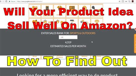 how many sales to amazon how to estimate amazon sales for products ur considering