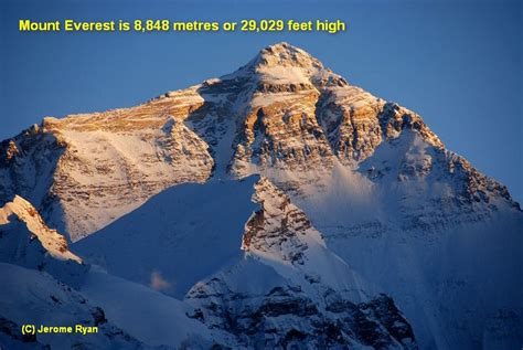 How High by How High Is Mount Everest